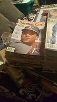 Baseball card magazine lot