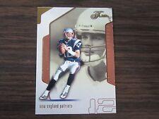 2002 Flair # 89 Tom Brady Card New England Patriots (B2)