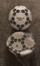 2 Vintage Kwik Goal Waterproof Soccer Balls World Cup Size 5