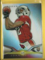 John Brown RC 2014 Topps Platinum Rookie Card # 123 Cardinals Ravens Football