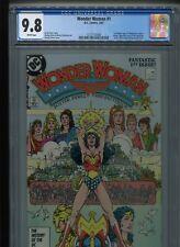 DC Wonder Woman #1 (1987) CGC 9.8 WHITE pages George PEREZ