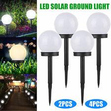 Flowerbed Solar Ground Ball Lights Led Path Patio Garden Decking Lamp Waterproof