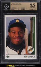 1989 Upper Deck Ken Griffey Jr. ROOKIE RC #1 BGS 9.5 GEM MINT