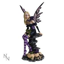 NEW AMETHYST AND HATCHLINGS DRAGONS FAIRY NEMESIS NOW FIGUREINE MODEL RESIN