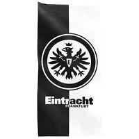 """SG Eintracht Frankfurt Duschtuch, SGE Badetuch Strandtuch """"Kontrast"""" 140 x 70cm"""