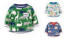 Mini Boden Boys' 100% Cotton T-Shirts & Tops (0-24 Months)