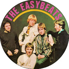 CHAPA/BADGE THE EASYBEATS . pin small faces bowie mod kinks eyes attack birds