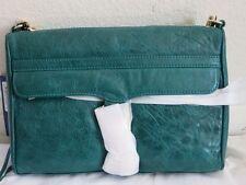 Rebecca Minkoff MAC clutch Teal purse cross body green H007I01C NEW bag shoulder