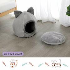 Haustier Katzen Nest Haus Bett Iglu Katzenhöhle Warm Hundekissen Katzenkorb DE