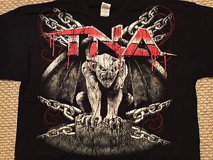 TNA Wrestling T Shirt 2XL XXL Gargoyle Total Nonstop Action Impact WWE NXT AEW
