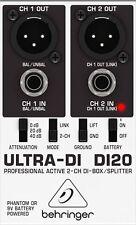 Behringer DI20 Ultra-DI 2 Channel DI Box Splitter