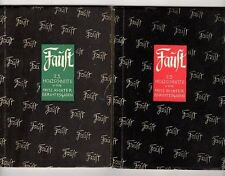 Faust (2 volumes) by Goethe (Fritz Richter Illus.) Signed