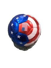 Blue White & Red U.S.A All Weather Small Soccer Ball for kids Official Size 2