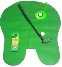 Potty Putter Baño Juego De Golf Accesorio de capacitación práctica Interior Mini Golf
