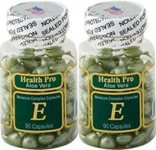 2 Nu-Health Aloe Vera & vitamin E Skin Oil Moisture Complex 90 Capsules/bottle
