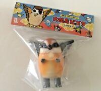 """Konatsuya Sofubi Sofvi Konatsu Brown Pigora Sparrow 3.5"""" Vinyl Figure Free Ship"""