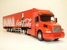 Camion VOLVO NH12 + remorque COCA COLA 1/50