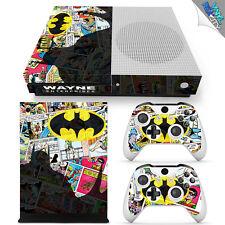 BATMAN Xbox One S Skin Decal Wrap Vinyl Sticker JUSTICE LEAGUE SUPERMAN