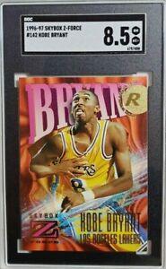 1996 Skybox Z Force #142 Kobe Bryant Rookie Card RC SGC 8.5 NM-MT+ Lakers