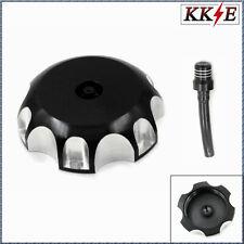 BLACK Fuel Tank Gas Cap Cover For HONDA XR80 250 400 CRF450X  Valve Vent Pipe