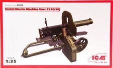 ICM 1/35 Soviet Maxim Machine Gun (1910/30) Kit