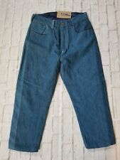 Levis Red A-Lined PICKER Tapered Dropped Crotch Cinch Back Jeans W 28 LTD EDT