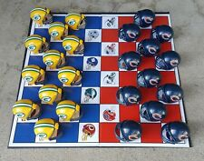 THE GREEN BAY PACKERS vs THE CHICAGO BEARS NFL FOOTBALL CHECKERS GAME