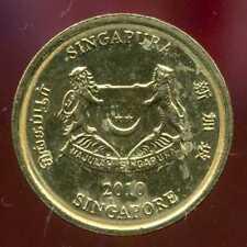 SINGAPOURE 5 cents  2010