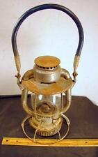 VINTAGE Dietz Vesta NYCS New York Central Railroad Lantern Globe Thick Handle !