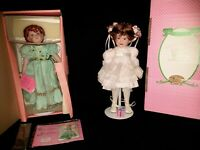 """Paradise Galleries Shannon the Shamrock Fairy 14"""" Porcelain Doll and Doll Lot"""