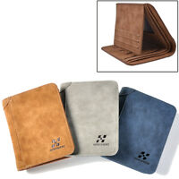 Mens Luxury High Quality Leather Wallet, Credit Card Holder, Bifold Slim Purse*