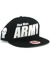 New Era Punisher One Man Army 9fifty A-Frame Snapback Hat Adjustable Marvel