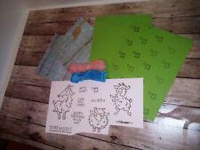 Stampin Up inspired card kit. Way To Goat.