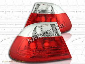 99-01 BMW E46 325 330 328 TAIL LIGHTS 2 DOORS R/C 00