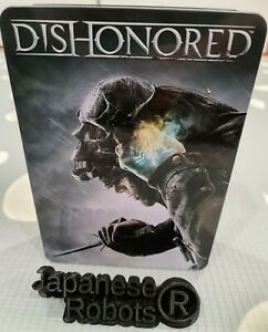 Dishonored Steel Tin Metal Case G1 steelbook limited Collector's edition