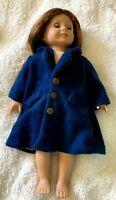 Dark / Navy Blue Coat fits 18 Inch American Girl Doll READ DESCRIPTION