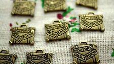 Maleta Bronce 10 encantos Jewellery Supplies C1012