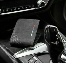 Car Alcantara M Wallet ID Bank Credit Card Holder Bifold Men Purse Pouch For BMW