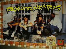 Psychefunkapus Large 1991 Personality Shot Promo Poster supermint condition