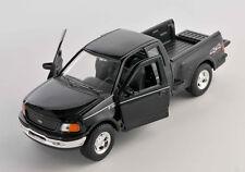 BLITZ VERSAND Ford F-150 Pick Up 1999 schwarz / black Welly Modell Auto 1:24 NEU