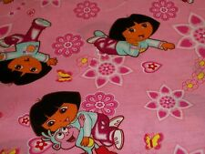 Dora the Explorer cotton crib/toddler fitted sheet