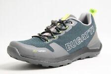 Bugatti Schuhe grau Mesh atmungsaktiv BGT Foam komfort Innensohle Herren Sportiv