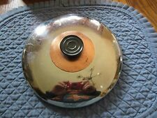 "8"" Stainless Steel Replacement Lid--Vintage Riviera type?-Stay-cool Handle"