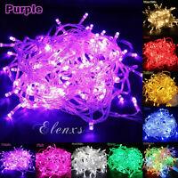 10M 100 LED Christmas Xmas Wedding Party Decor Outdoor Fairy String Light Lamp