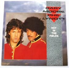 Gary Moore and Phil Lynott - Out in the fields   UK 12""