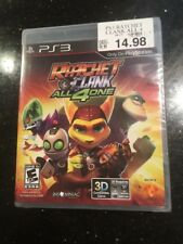 Brand New Sealed: Ratchet and & Clank: All 4 One 3D Sony PlayStation 3 2011 PS3