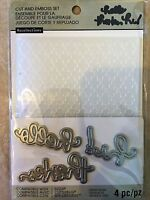 Recollections Folder & Dies 508075 Moroccan (3 Cutting Dies) NEW