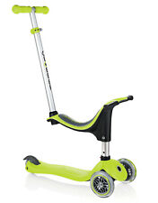 Brand New Globber EVO 4 in 1 Convertible Scooter Outdoor Play Lime Green
