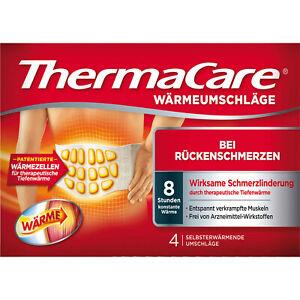 ThermaCare Rückenumschläge S-XL, 4 Pz. 00707366