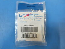 L-Com TDG1026KC5 Unshielded RJ45 CAT5E Keystone Feed-thru.